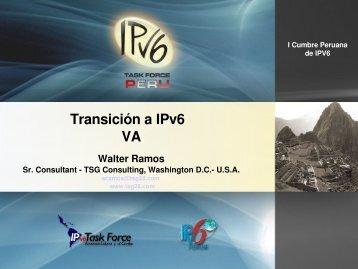 Transición a IPv6
