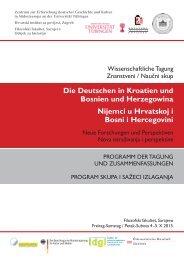 Die Deutschen in Kroatien und Bosnien und Herzegowina Nijemci u ...