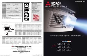 Product Brochure - Mitsubishi Electric Sales Canada Inc.