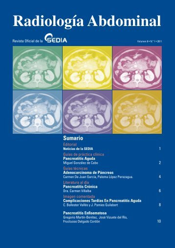 Radiología Abdominal - SEDIA
