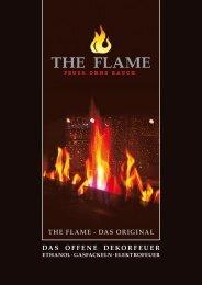 THE FLAME - DAS ORIGINAL DAS OFFENE DEKORFEUER