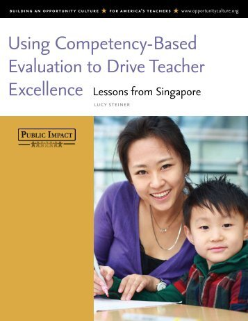 Using Competency-Based Evaluation to Drive Teacher Excellence