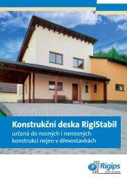 Konstrukční deska RigiStabil - Rigips