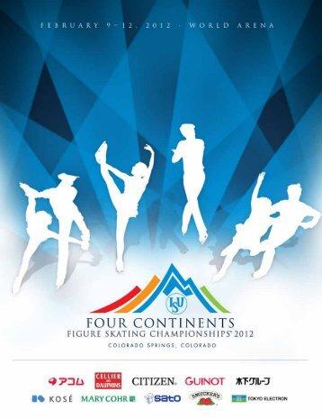 2012 ISU 2012 Four Continents Championships - US Figure Skating