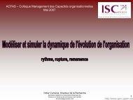 rythme, rupture, rémanence (Présentation PowerPoint - Groupe de ...