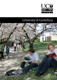 Communications and Development Department - University of ...
