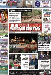 27  Eylül Tarihli Küçükmenderes Gazetesi