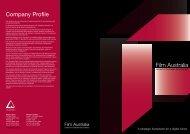 Company Profile Film Australia