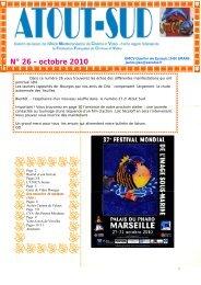 N° 26 - octobre 2010 - UMCV