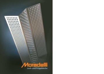 Loch-und Prägebleche - Moradelli