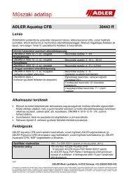 ADLER Aquatop CFB 30443 ff