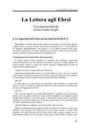06) La superiorità di Cristo (Eb 6-7) - Symbolon.net