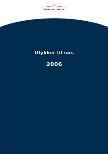 Ulykker til søs 2006 - Søfartsstyrelsen