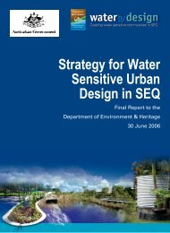 Strategy for Water Sensitive Urban Design in SEQ - Water by Design