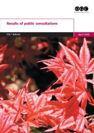 ITIL Refresh: Results of Public Consulations – April 2005 (PDF)