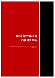 POLIITTINEN-OHJELMA