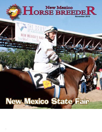 New Mexico State Fair - New Mexico Horse Breeders Association