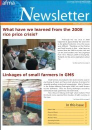 Vol. 59 No. 1, January – March 2009 - Agricultural and Food ...