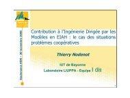 transparents de ma soutenance (PDF [1.41 Mo]) - IUT Bayonne