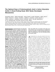 The Optimal Dose of 5-Aminosalicylic Acid in Active Ulcerative ...