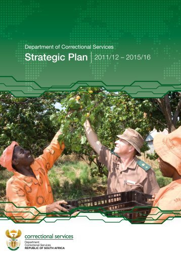 Strategic Plan 2011/12 - Department of Correctional Services