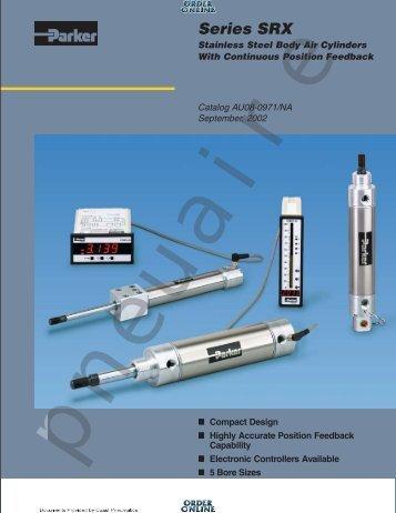 SRX Series Cylinders - Coast Pneumatics