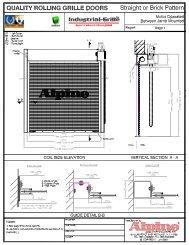Motor operation - Alpine Door