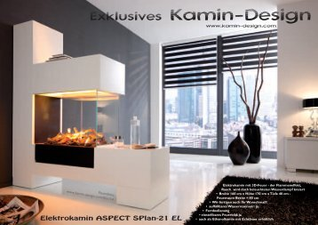 Neuheiten Flyer - Kamin-Design GmbH & Co KG