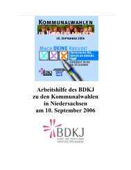 Entscheide DU, bevor es Andere tun! - Jugendserver Niedersachsen