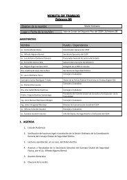 Minutas 02/08 - Gobierno del Estado de Sinaloa