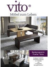 Broschüre herunterladen (PDF, 0.54 MB) - Vito Möbel