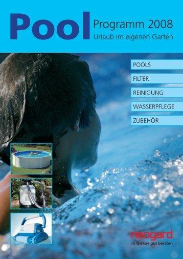PoolProgramm 2008 - outdoor-montagen