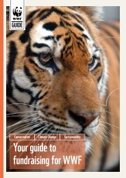 Your guide to fundraising for WWF - WWF UK