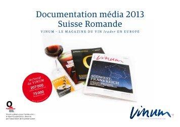 Tarifs publicitaires 2013 - Vinum