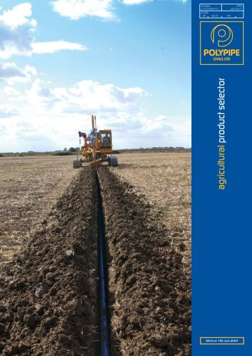 Agricultural brochure 04 - Polypipe Civils