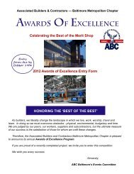 awards of excellence entry form