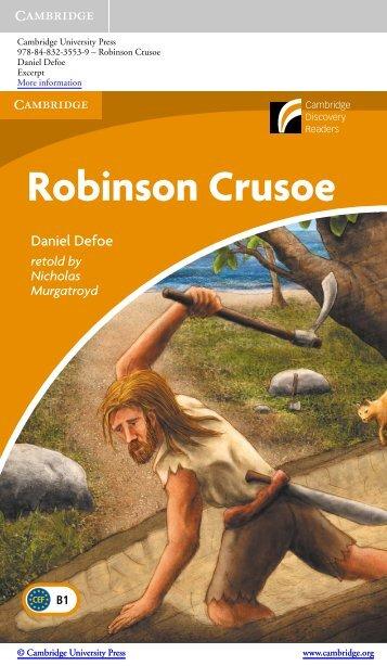 Robinson Crusoe - Assets - Cambridge - Cambridge University Press