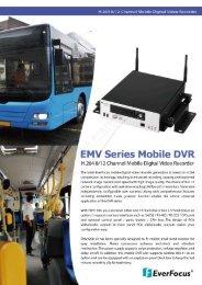 EMV Series Mobile DVR