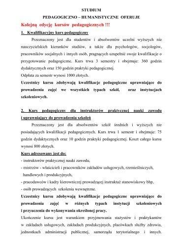 STUDIUM - Państwowa Wyższa Szkoła Zawodowa w Krośnie