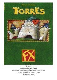 Torres Ravensburger, 1999 KRAMER Wolfgang ... - Forum Mortsel
