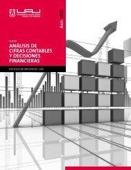 análisis de cifras contables y decisiones financieras - Universidad ...