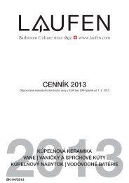 Katalóg Laufen 2013 - Kupelnasnov.sk