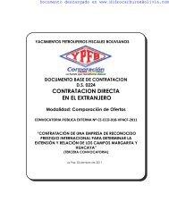 descargar la convocatoria en formato pdf - HidrocarburosBolivia.com