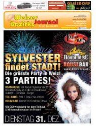 dezember 2013 - Neues Weizer Bezirksjournal