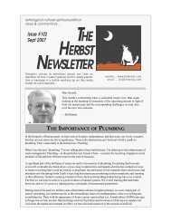 The Importance of Plumbing - Bill Herbst, astrologer