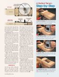 Routing a Perfect Tenon - Woodsmith Woodworking Seminars - Page 2