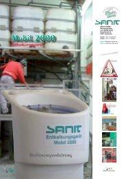 Produkte zur Kalkentfernung - SANIT Reinigungsmittel und -geräte ...