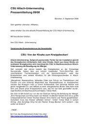 Junge Union in München