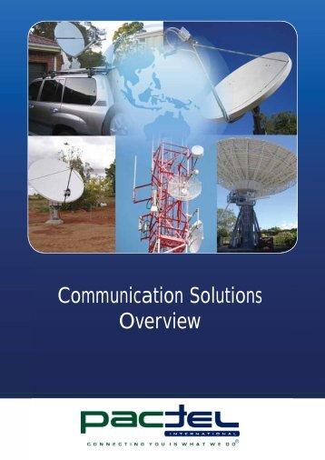 Communication Solutions Brochure - Pactel International
