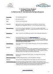 Kinder_Hochgratlauf Ausschreibung 2012_v2 - TSV Oberstaufen ...